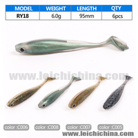 wholesale chinese swimming fishing lure soft plastic