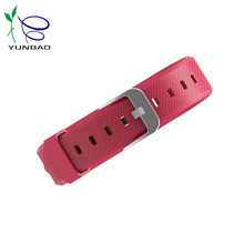 2017 Custom fashion design swatch watch band silicone rubber