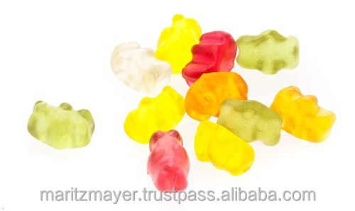 Natural Vitamin C Gummy Bears Nutraceutical Products
