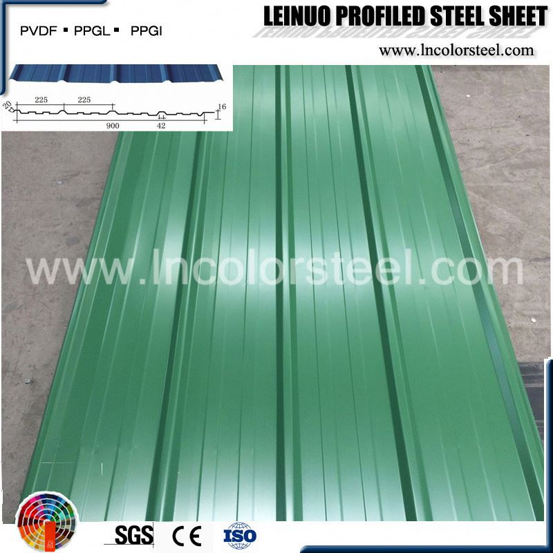 cheap width 900mm corrugated roofing sheet