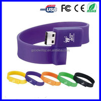 Yes Encryption silicone wristband Bracelet usb flash drive with 8GB 16GB