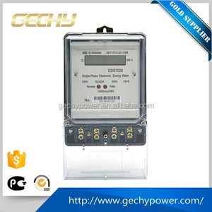 High quality measure accurately DDS single phase electronic watt-hour meter