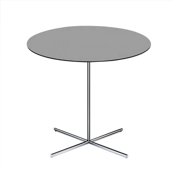 Debo solid phenolic resin HPL tabletop in dining tables
