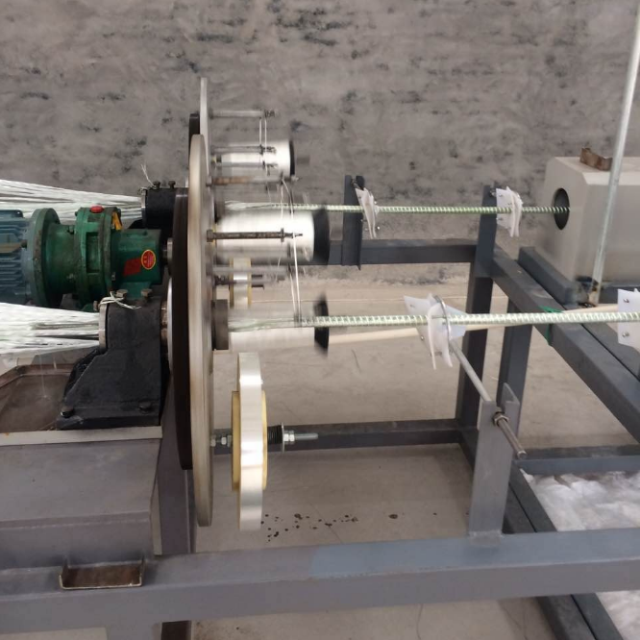 FRP rock bolts making machine/ fiber glass rebar pultrusion equipment
