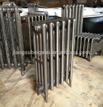 Antique cast iron house radiator by hot water