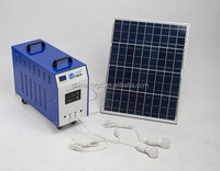 500w portable solar power generator for home