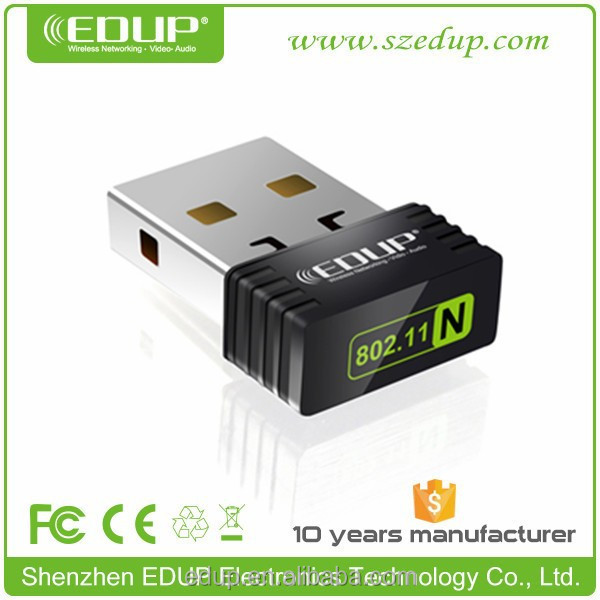 EDUP hot products 802.11n mini wifi adpater with RT5370 chipset
