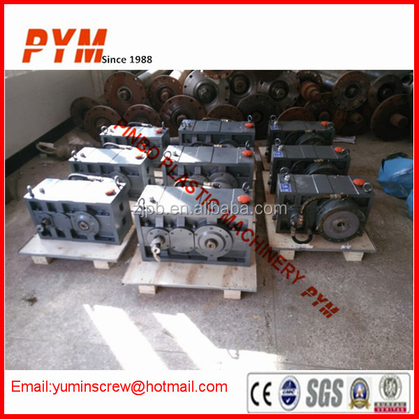 Extruder machine boxes gear and reduction gear box
