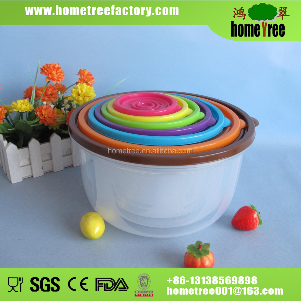 2014 good quality plastic food storage container