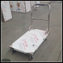 Assemble Medical Stainless Steel Hospital Transport Cart