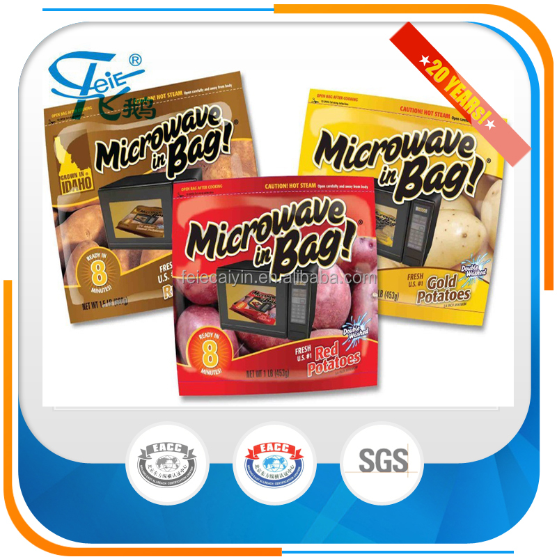 Food Microwaveable Steam Bag