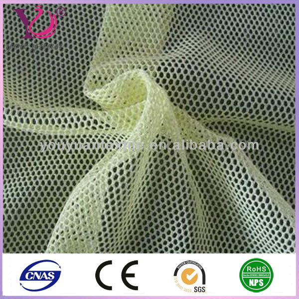 China Supplier Polyester Mesh Fabric UV Resistant Car Sunshade Mesh Fabric