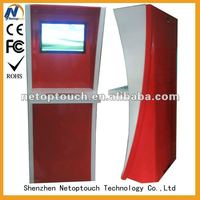 Touch Screen Advertising Equipment Kiosk