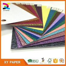 solid glitter cardstock paper wholesale for scrapbooking