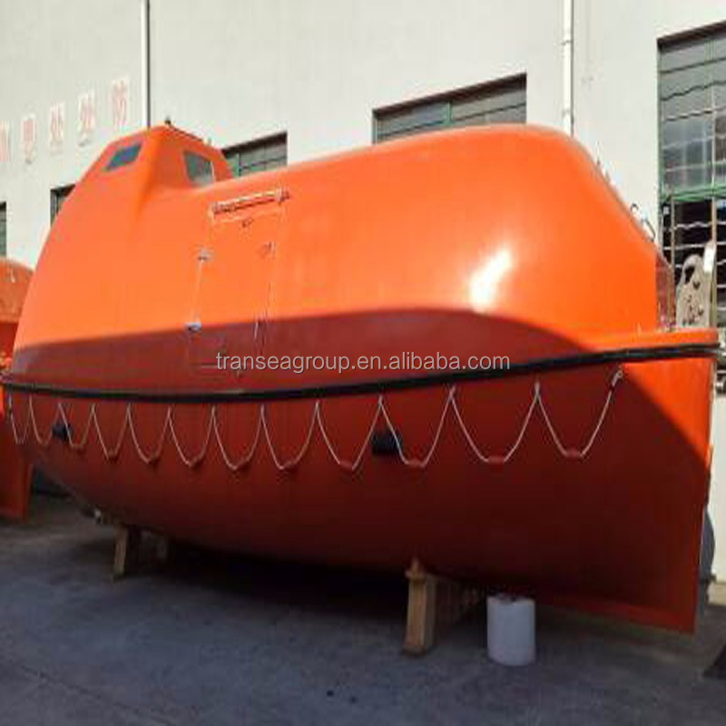 5m 10 person enclosed lifeboat for ship