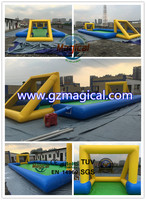 inflatable soccer field/inflatable games