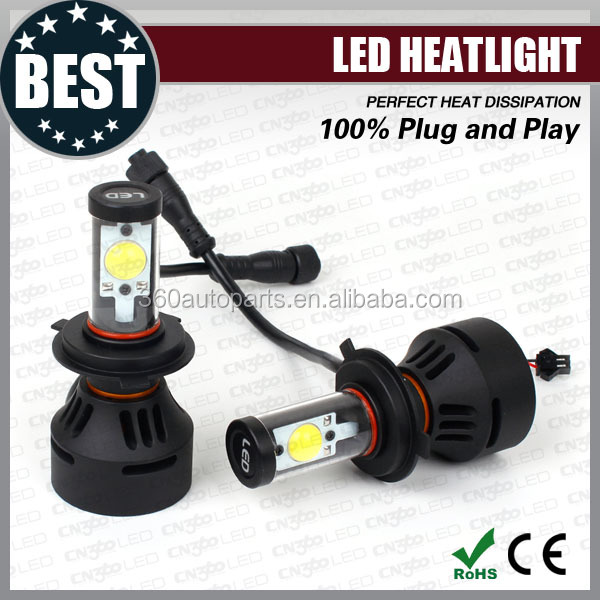 High class canbus function Euro smart car led lamp cree h4