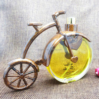 Best selling 100ml 3.4FL.OZ Bicycle Shape Perfume Attars Rose Water Spray Atomizer Bottle
