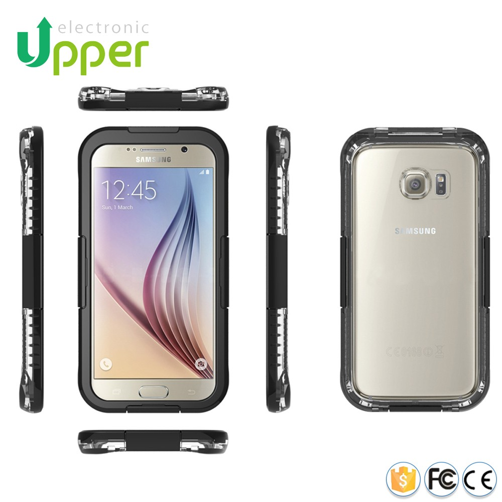 For samsung galaxy phone case,hard plastic waterproof equipment case for samsung galaxy s6 edge plus