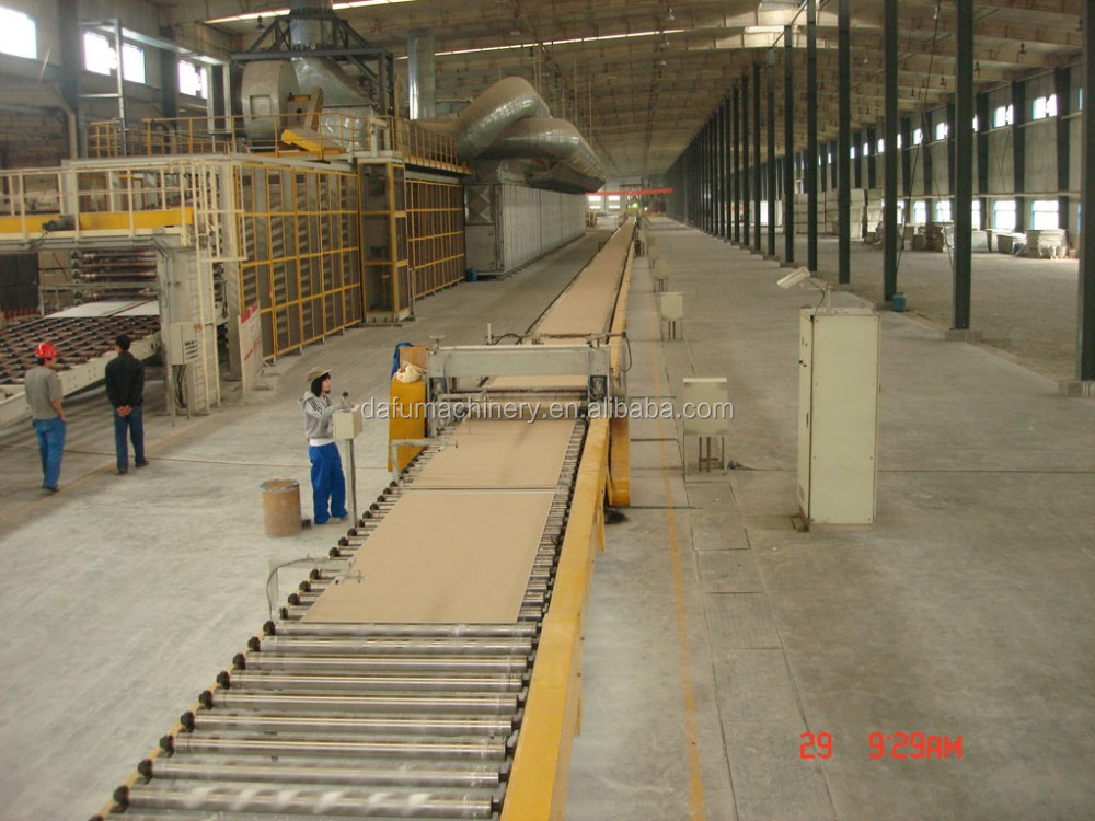 China made first grade gypsum board production line made from China