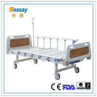 Best Seller Hospital Bed Prices 2 Cranks Manual Hospital Bed
