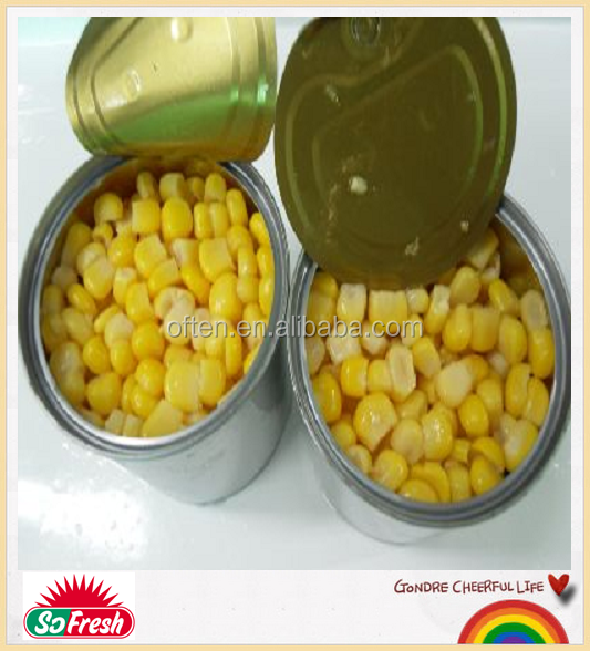 new crop cheap canned vegetable canned corn mutton in tin