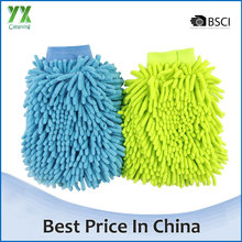 Colorful Car Cleaning Glove Microfiber Chenille Car Wash Mitt