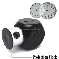 Smart and Fashionable Dice Shaped Clock LED for Multiple Purpose Projection Clock