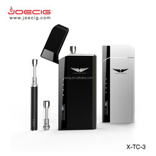 New x-tc 3 portable xtc kit e cig pcc case hot selling high end e cigarette