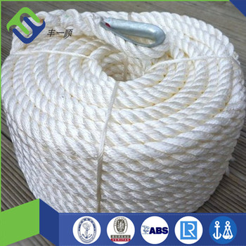 Wholesale twisted 14mm nylon anchor rope with eye splice