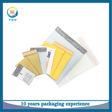 Shock resistance craft paper bubble courier bags for fragile