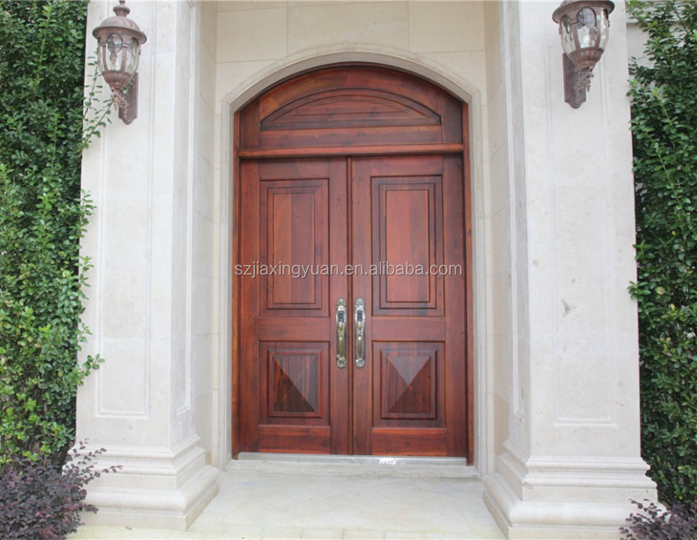 solid wood exterior door buy wood exterior door double entry wood