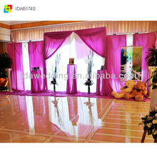 IDA new elegant mechanical curtain track system for wedding theme party on big sale