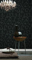 High quality classic design PVC heavy deep embossed hot new wallpapers interior decoration