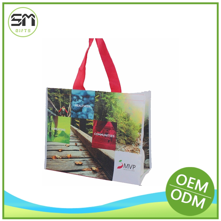 Wholesale retail reasonable price non woven bag with clear plastic window