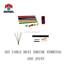 1KV electric power cable heat shrink terminal and middle joint