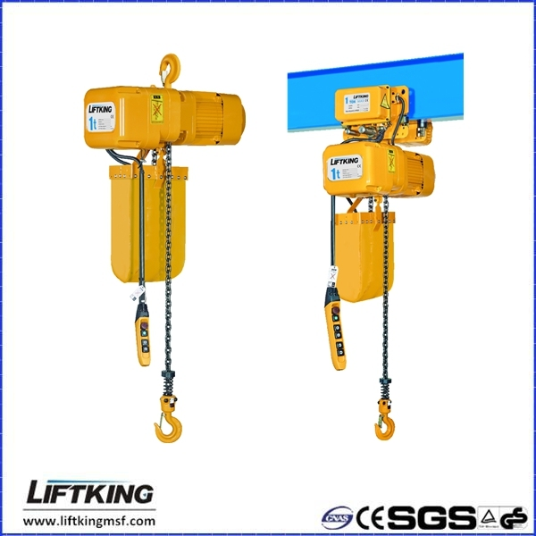 LIFTKING ER2 chain type elecric hoist with YASKAWA Inverter & Eaton contactor & cooling fan & safety clutch