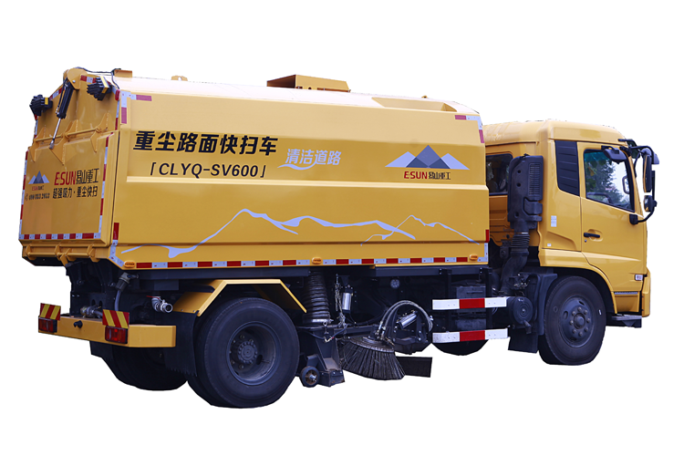 Mechanical road cleaning machine