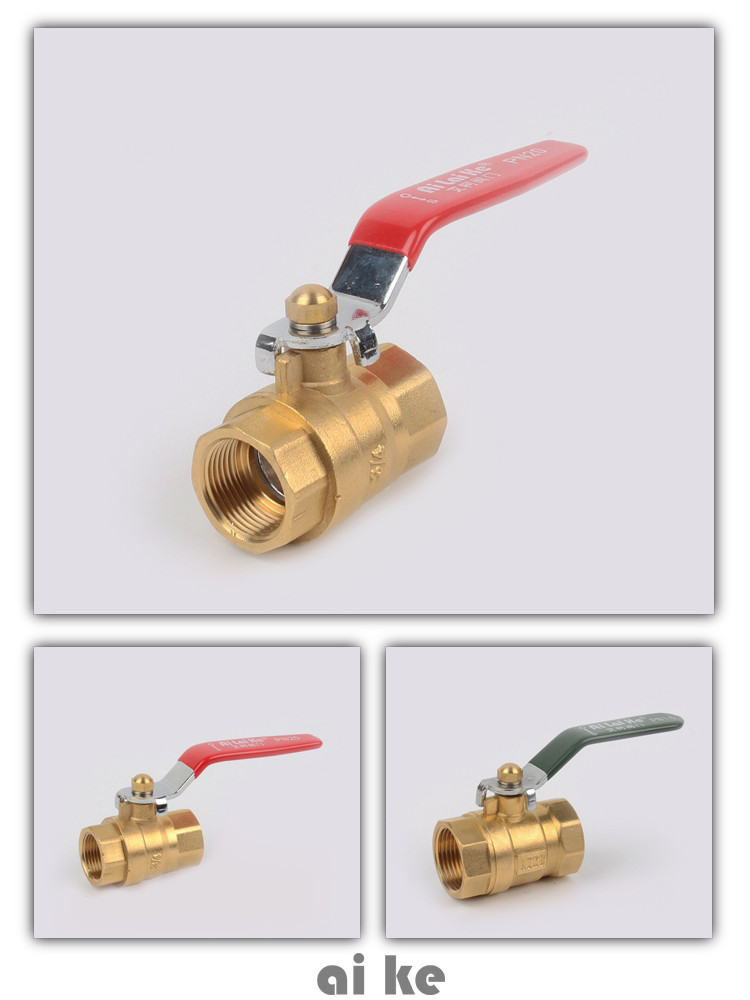 1/2 ,3/4 ,1 inch cheap plastic ppr brass ball valve for hot and cold water