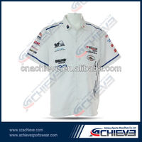 Cheap wholesale racing wear 100%polyester