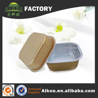 Top Quality Square Stock Disposable Coated Airline Container For rice noodles