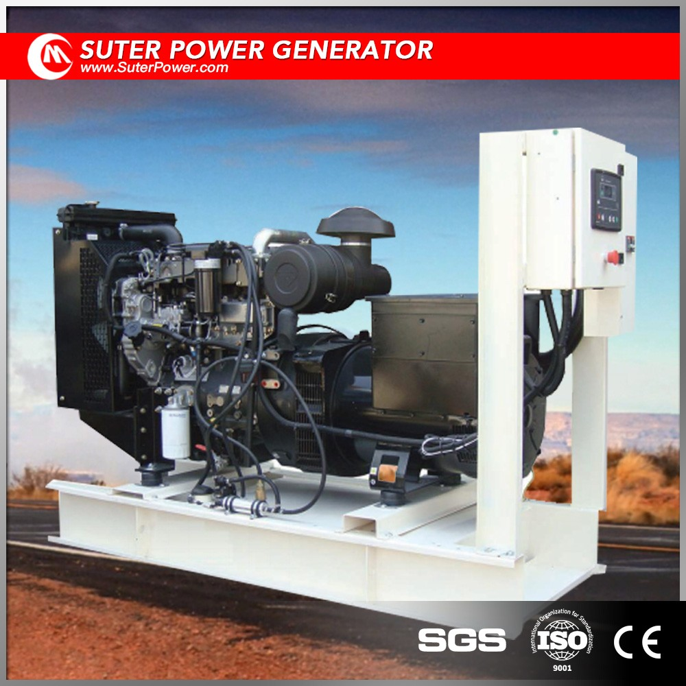 UK imports electric power diesel generator 50kw with stamford motor