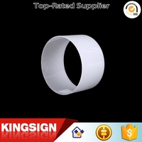 Professional manufacturer top sell threaded plastic acrylic tube