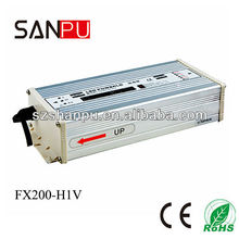 SANPU 2013 hot selling CE ROHS waterproof 200w 27v 220v led driver, 400hz output ac power supply,transformer for led light