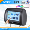 7 inch headrest dvd with touch screen