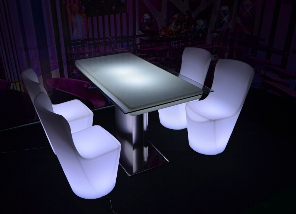 Lounge Night Club LED Light Bar Furniture LED Furniture