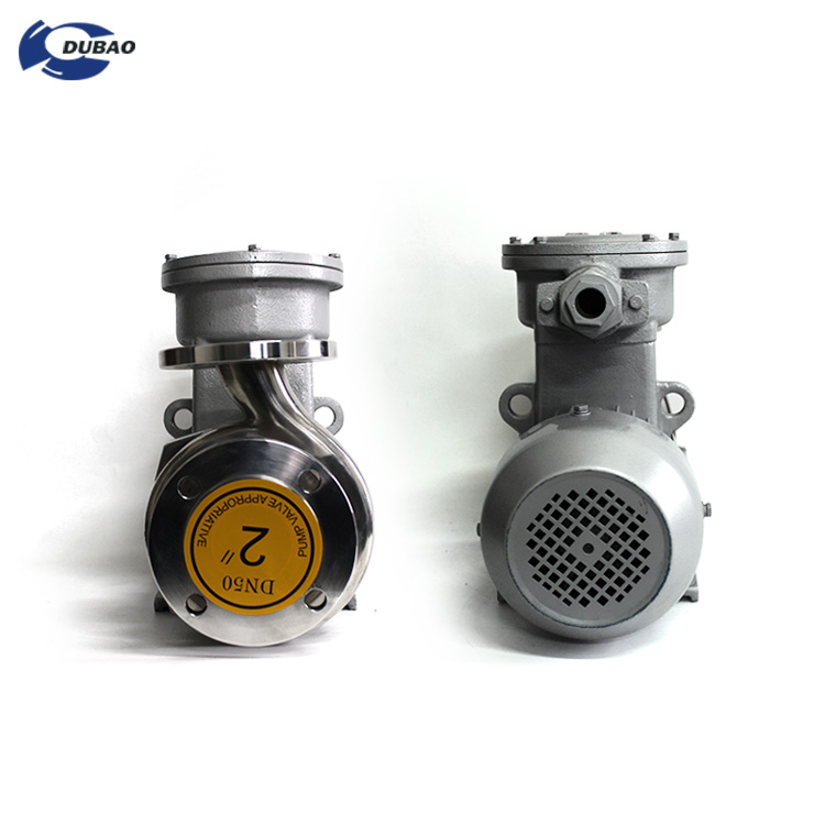Explosion-proof Sewage Horizontal Stainless Steel Centrifugal Water Pump