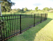 1.2m metal garden fencing short wrought iron fence