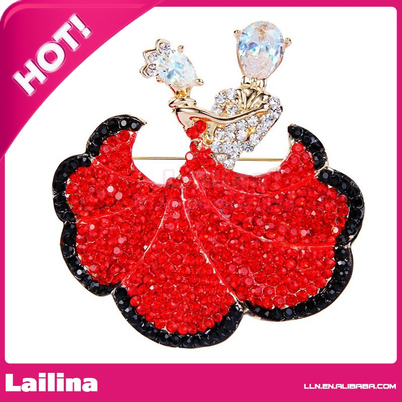 Gorgeous 48mm Rhinestone Enamel Halloween Pumpkin Brooch For Thanksgiving