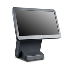CE ROHS approved 15.6 inch one touch screen basic point of sale system all in one pos machine